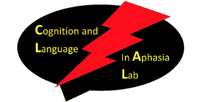 Cognition and Language in Aphasia Lab Logo