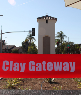 Clay Gateway unveiling