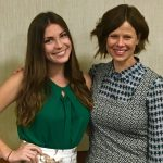 Alyssa Pitts and Dr. Jessica Barlow
