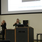 Dr. Karen Emmorey delivers the Albert Johnson lecture, March 15, 2013