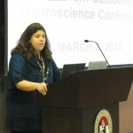Dr. Tracy Love at the Cognitive Neuroscience Symposium, March 2, 2012
