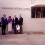 Professional Colleagues Visit the Communications Clinic Building