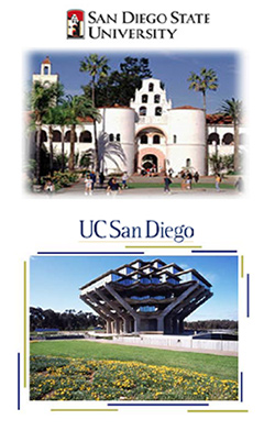 sdsu and ucsd buildings