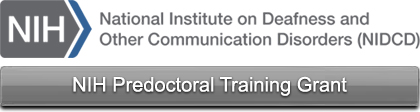 NIH Predoctoral Training Grant Renewed!