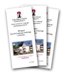 Bilingual Certificate Brochure