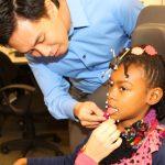 Ignatius Nip, SLHS, uses motion-capture to study cerebral palsy