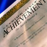 awards certificate