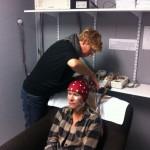 brain imaging in progress