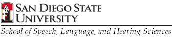 SDSU School of Speech, Language, and Hearing Sciences